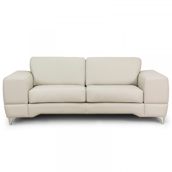 Love Seat Barcelona 100% Piel Genuina Anilina