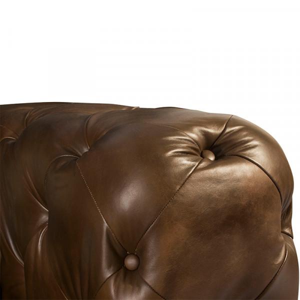Love Seat Chessy 100% Piel Genuina Anilina