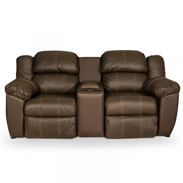 Love Seat Livier Piel Genuina