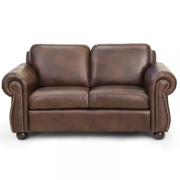 Love Seat Vallarta 100% Piel Genuina Anilina